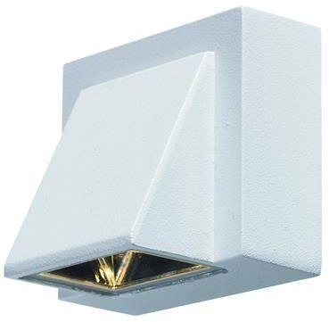 Kinkiet zewnętrzny Carina LED IP44 104733 Markslojd biała zewnętrzna oprawa na ścianę