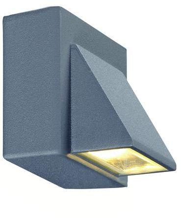 Kinkiet zewnętrzny Carina LED IP44 102578 Markslojd szara zewnętrzna oprawa na ścianę
