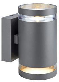 Kinkiet zewnętrzny Iris LED IP44 106516 Markslojd szara zewnętrzna oprawa na ścianę