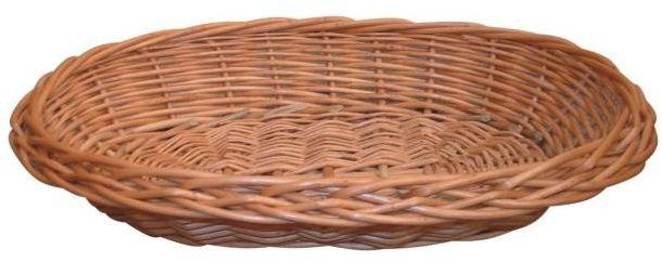 Koszyk na pieczywo wiklinowy owalny