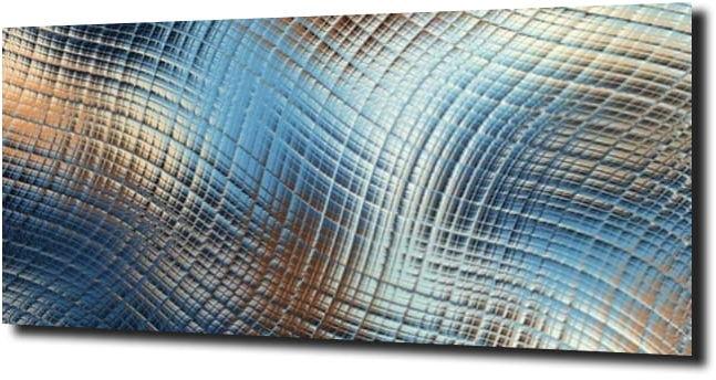obraz na szkle Abstrakcja lustro 128