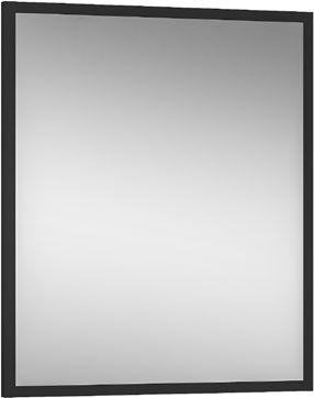 CZARNE lustro 60x70 cm metalowe, MODUS LOFT