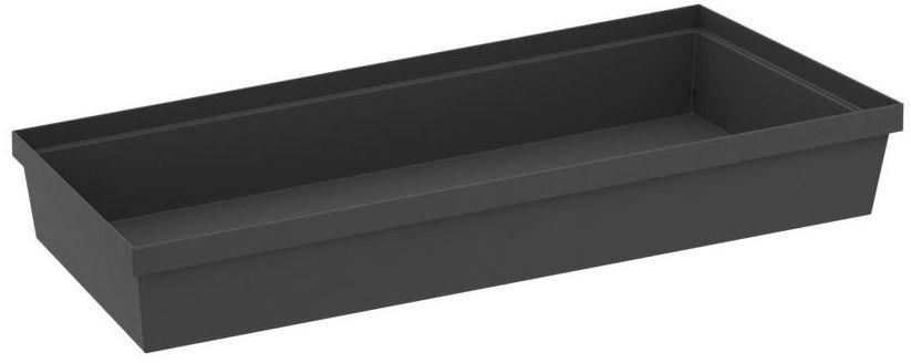 Pojemnik do szuflad 45 x 20 x 6.7 cm szary Delinia iD