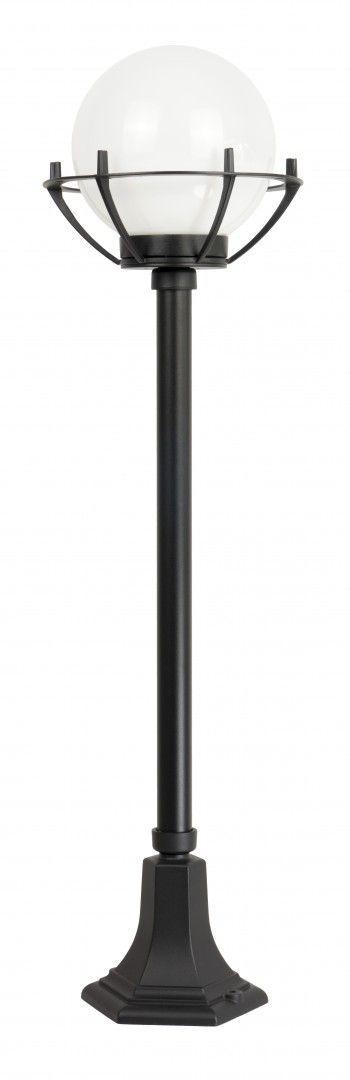 SU-MA Kule z koszykiem 200 K 5002/2/KPO oprawa stojąca klosz biały o średnicy 20 cm E27 102cm