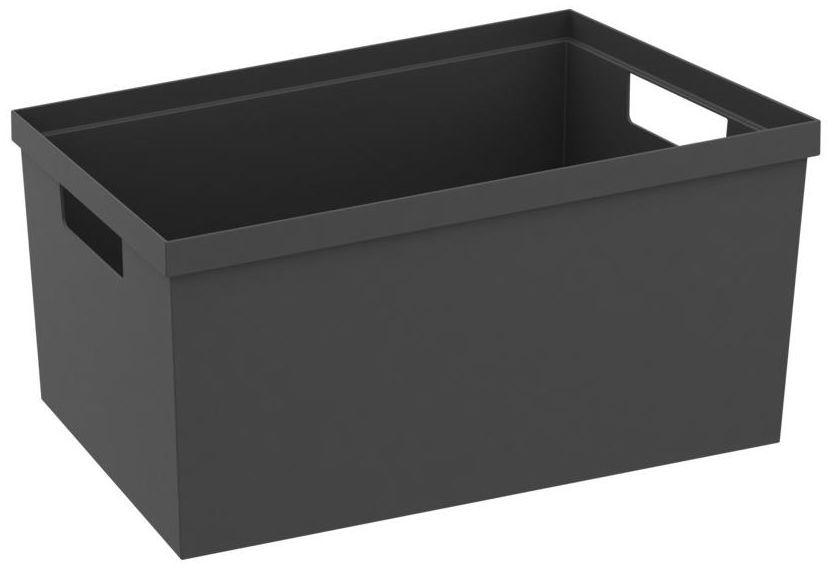 Pojemnik do szuflad 30 x 20 x 14.7 cm szary Delinia iD