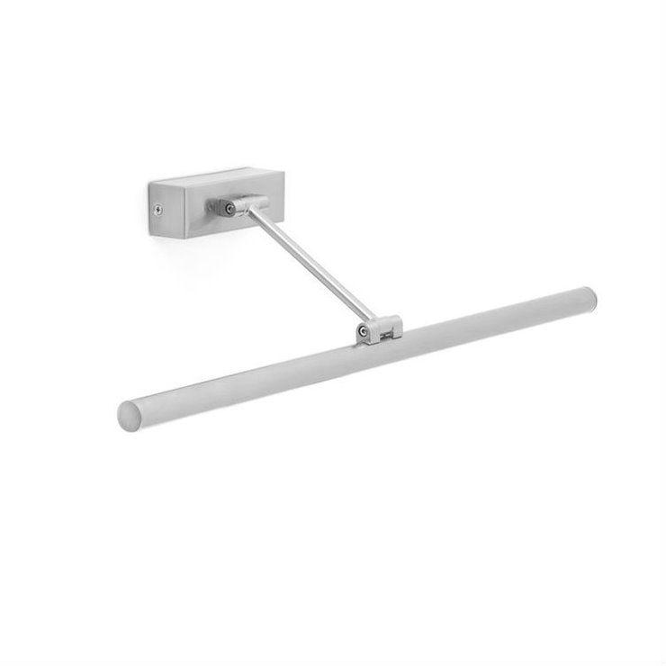 Magritte L60 srebrny - Faro - lampa ścienna