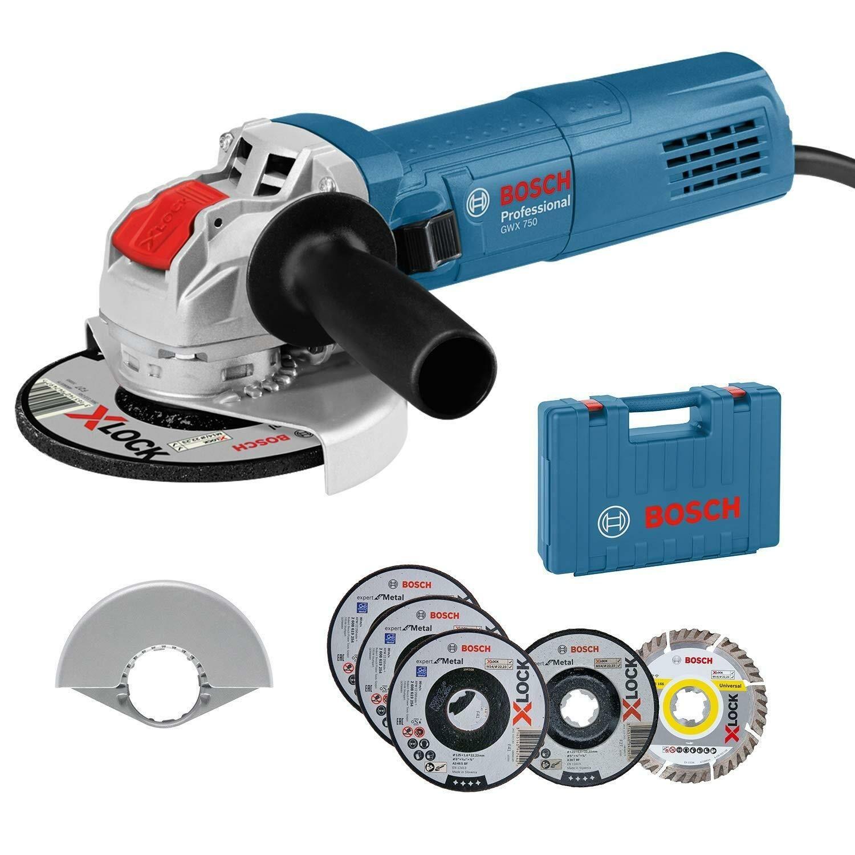 Bosch GWX 750-125 Special Edition 0615990L6U Szlifierka kątowa