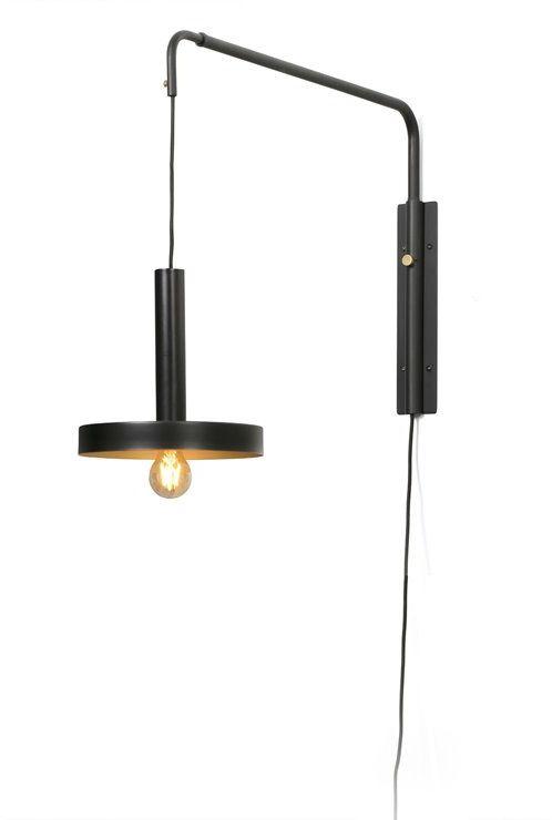 Whizz L70-120 czarny - Faro - lampa ścienna