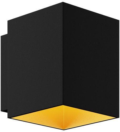 Kinkiet Spot Sola WL Square 91063 Zuma Line czarno-złota oprawa w stylu nowoczesnym