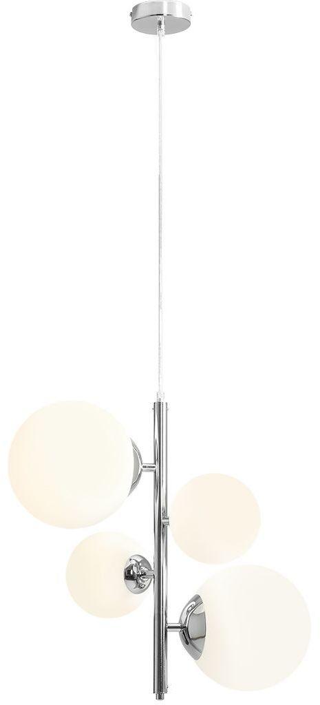 Lampa wisząca Bloom chrom 1091L4 szklane klosze kule - Aldex // Rabaty w koszyku i darmowa dostawa od 299zł !