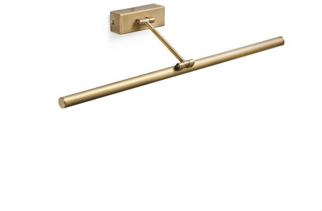 Magritte L60 złoty postarzany - Faro - lampa ścienna