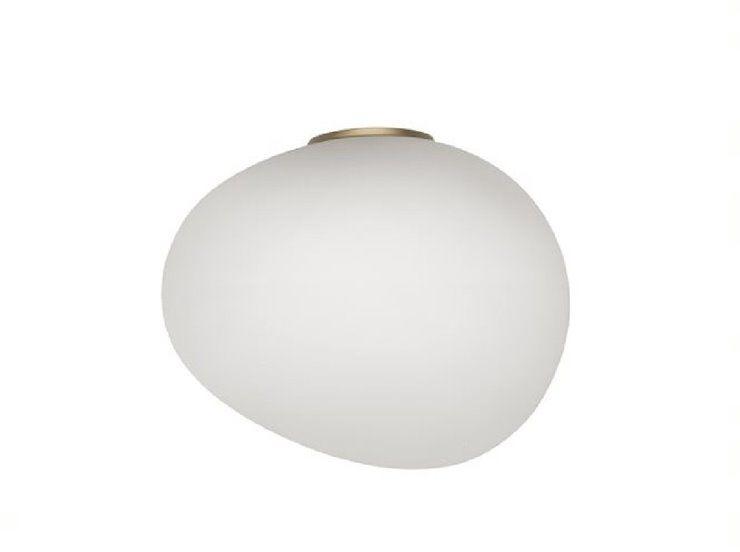Gregg Media Ø31 biały, złoty - Foscarini - lampa ścienna