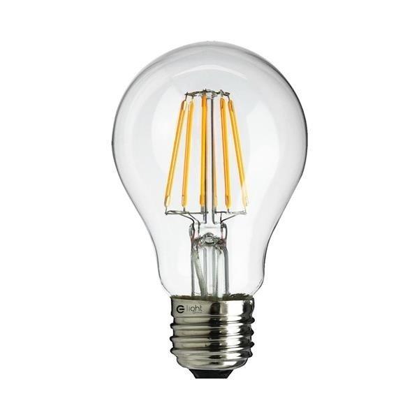 Żarówka ozdobna Filamentowa LED 6W A60 E27 barwa neutralna 4000K EKZF940