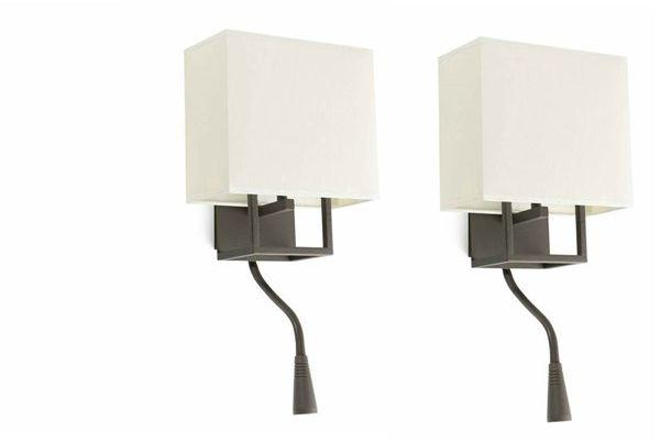 Vesper H45 biały - Faro - lampa ścienna