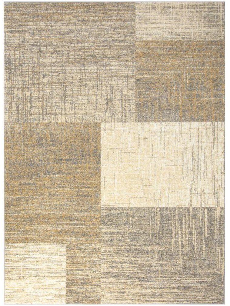 Dywan Iwo szaro-beżowy 60 x 110 cm