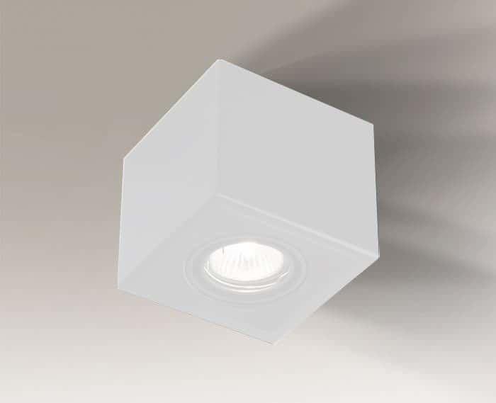Oprawa natynkowa AWA H 7084 Shilo biały