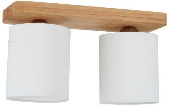 SPOTLIGHT lampa sufitowa JENTA 2 punktowa drewno dębowe kolor dąb olejowany, 8512274