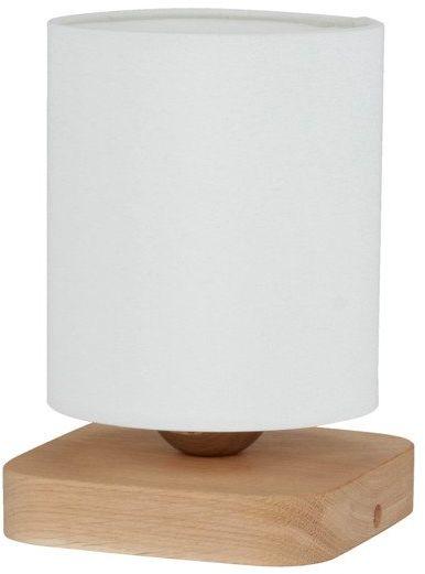 SPOTLIGHT lampa stołowa JENTA drewno dębowe kolor dąb olejowany, 7522174