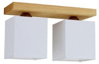 SPOTLIGHT lampa sufitowa INGER 2 punktowa drewno dębowe kolor dąb olejowany, 2284274
