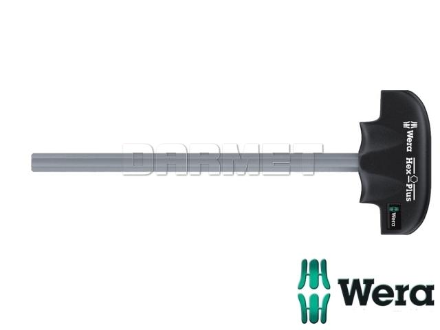 """Wkrętak sześciokątny (imbusowy) Hex-Plus z rękojeścią typu """"T"""" 454 - WERA (05013339001)"""