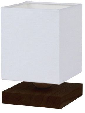 SPOTLIGHT lampa stołowa INGER drewno bukowe kolor orzech, 7284176