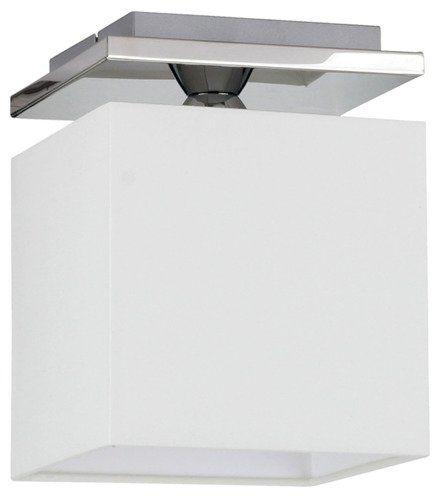SPOTLIGHT lampa sufitowa RIVOLI Metal Chrom Abażur Biały, 8582128