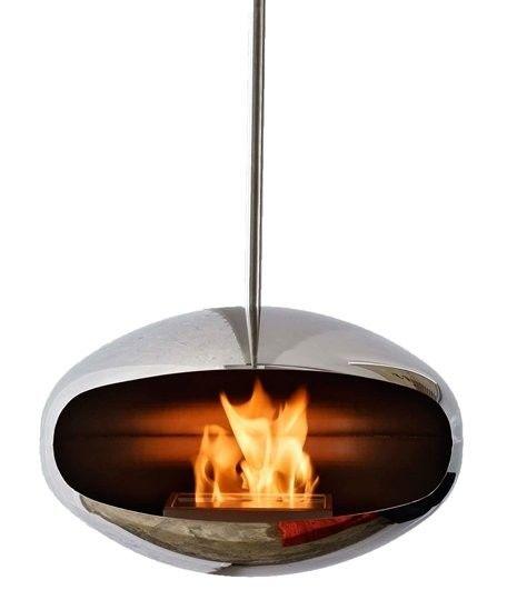 Biokominek Cocoon Aeris Stainless Steel --- OFICJALNY SKLEP Cocoon Fires