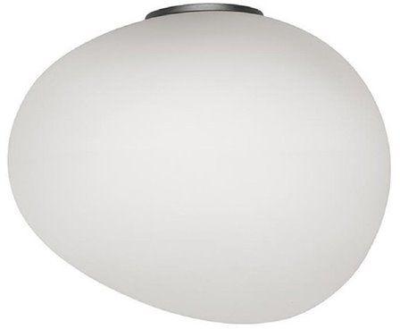 Gregg Midi H21 biały, grafit szary - Foscarini - lampa ścienna