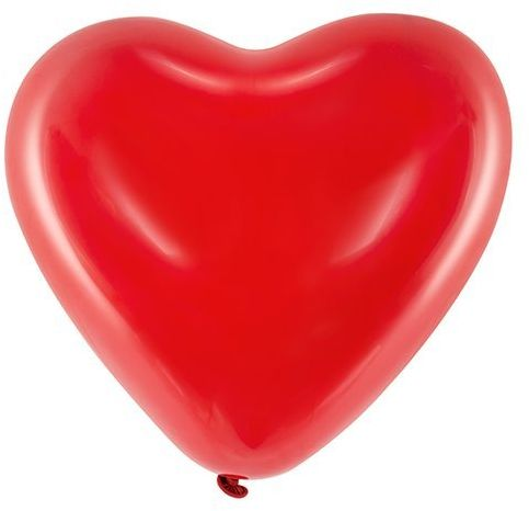 Balony Serca czerwone 12 cali 25 sztuk 092MD-25x