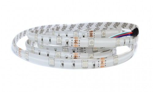Taśma LED RGB 150SMD5050 5m IP65 - 1m.