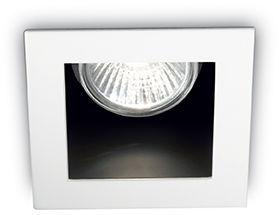 OUTLET! Oczko stropowe białe Funky FI1 083230 Ideal Lux minimalistyczna oprawa sufitowa