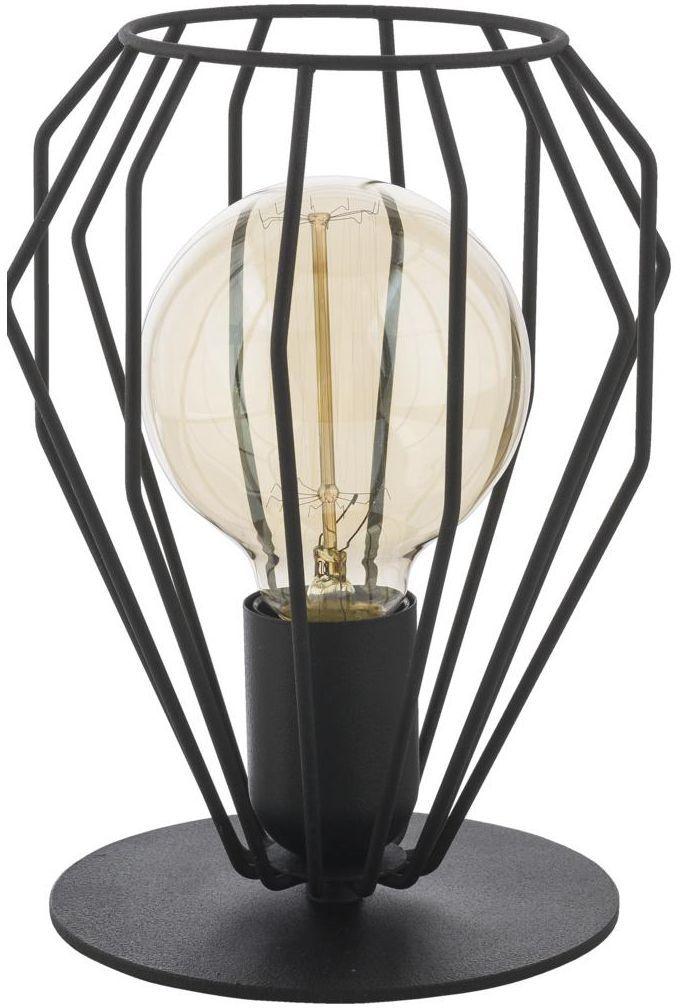 Lampa stołowa BRYLANT czarna E27 TK LIGHTING