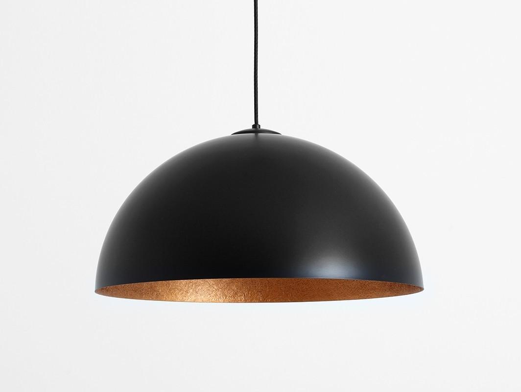 Lampa wisząca LORD 50 - miedziano-czarny - Customform