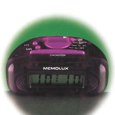 Budzik cyfrowy LCD MEMOLUX AA60160