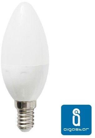 Żarówka LED E14 7W zimna 6400K świeczka C37