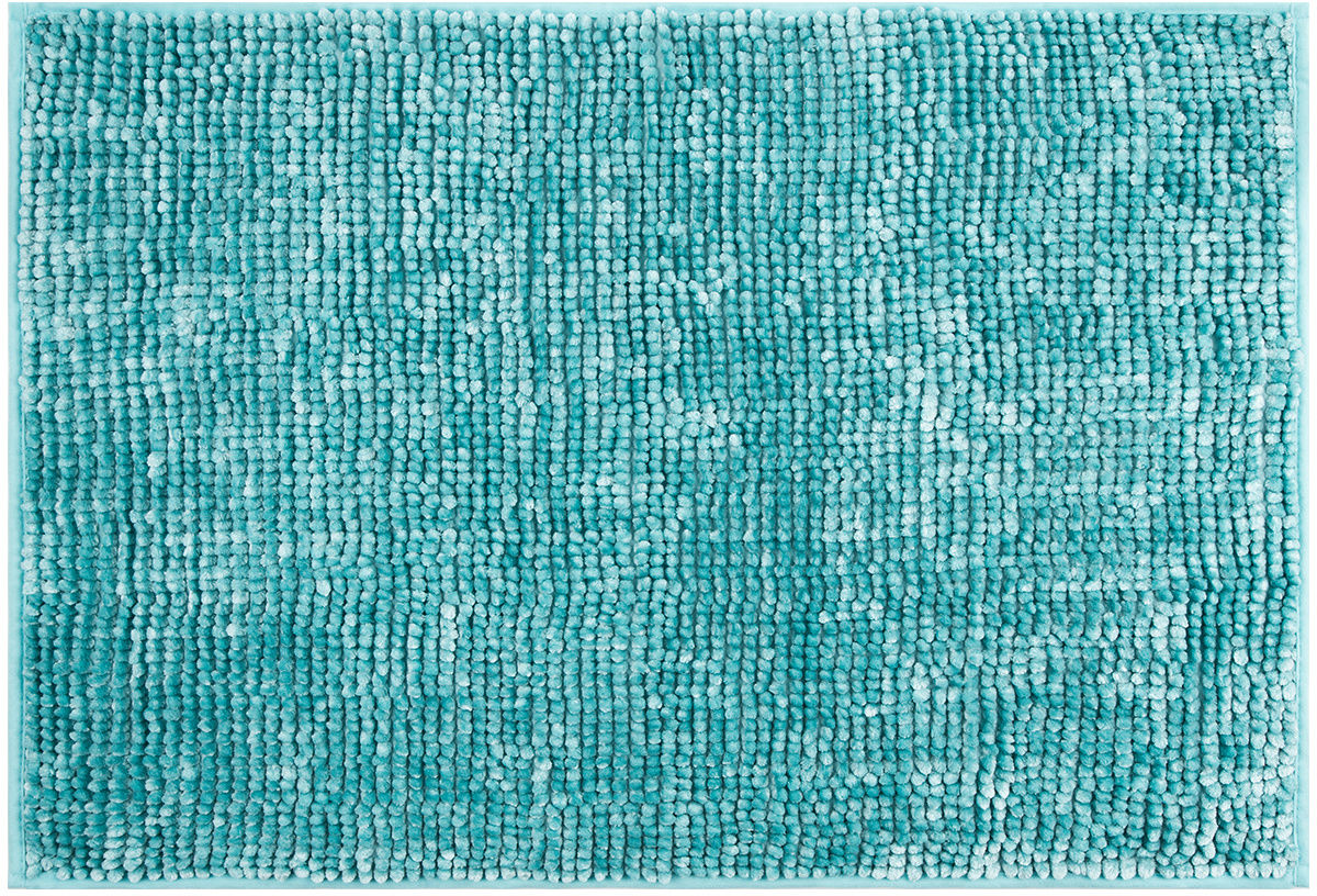 AmeliaHome Dywanik łazienkowy Bati niebieski, 60 x 90 cm, 60 x 90 cm