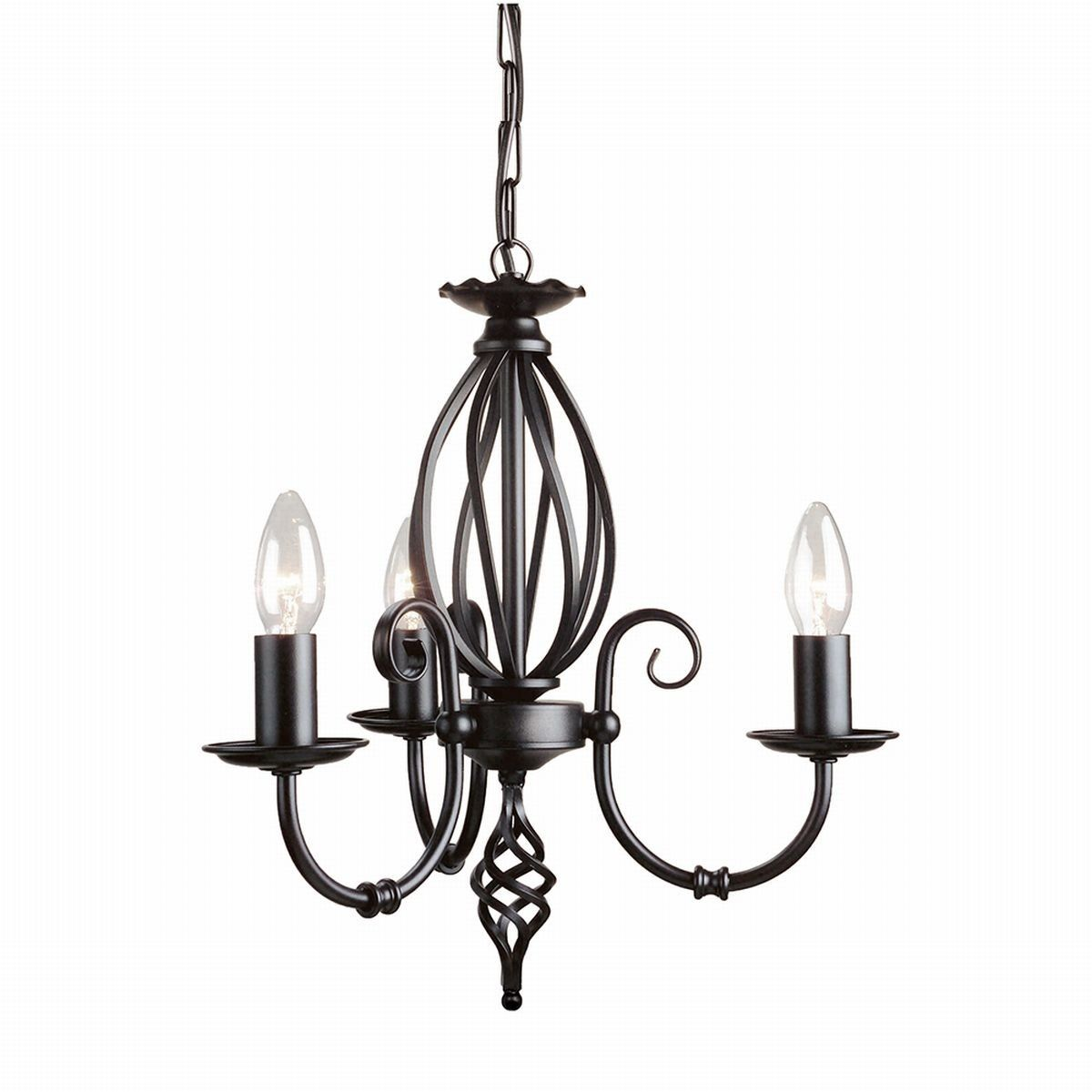Artisan Light Black - Elstead Lighting - lampa wisząca klasyczna