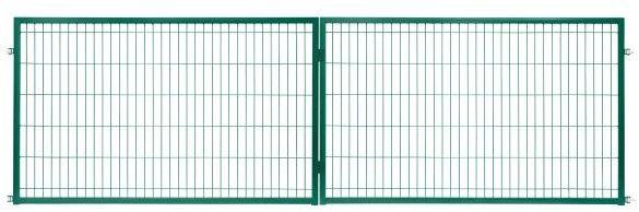 Brama panelowa 2D ocynk