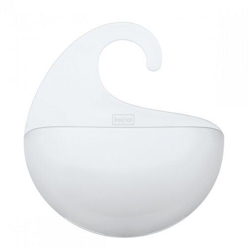 Półka łazienkowa Surf biała Koziol