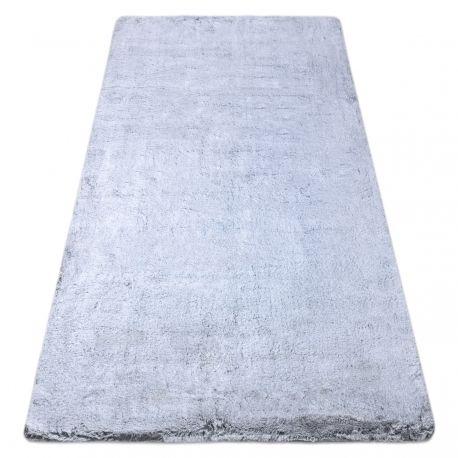 Dywan LAPIN Shaggy szary / kość słoniowa, antypoślizgowy, do prania 60x100 cm