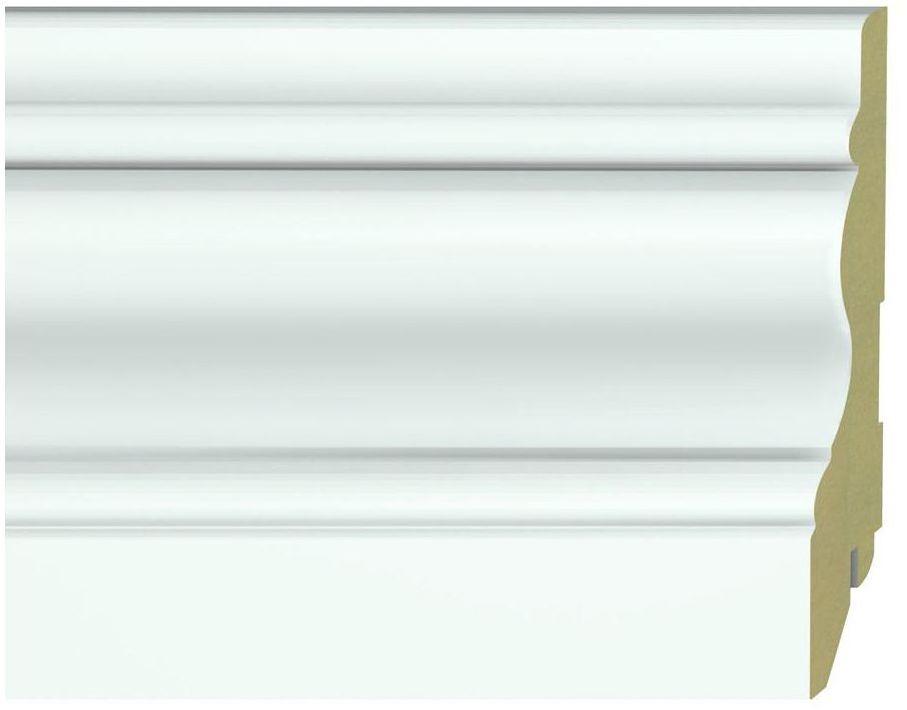 Listwa przypodłogowa mdf biała K120 19X120X2600 mm Krono original