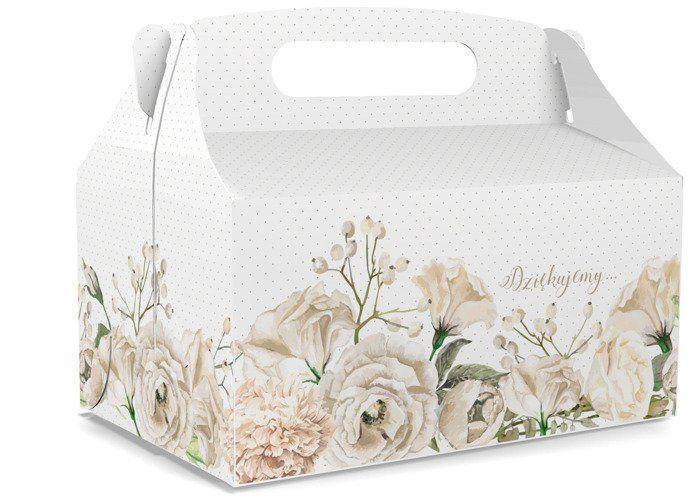 Pudełko na ciasto Dziękujemy całe dno 1 sztuka CS09s-1x