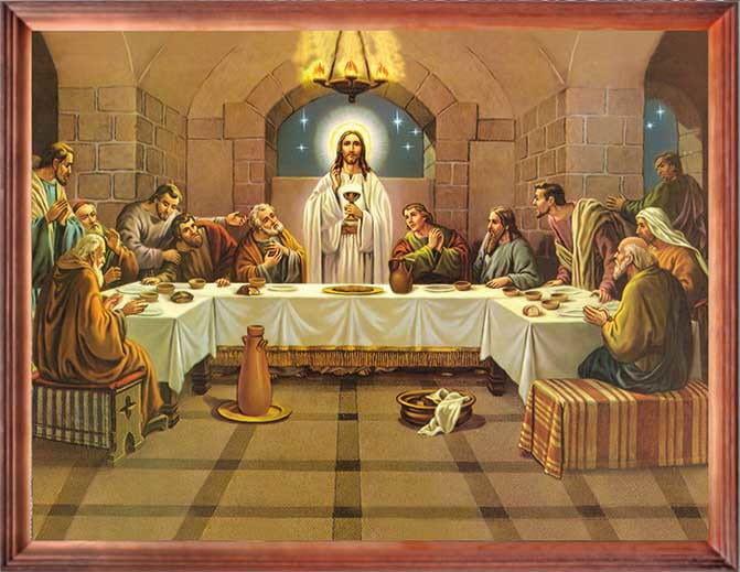 Obraz Ostatnia Wieczerza z Apostołami