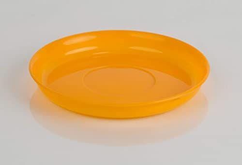 Kimmel nakrycie dziecięce spodek, odporny na pękanie, można układać w stos, wielorazowy, tworzywo sztuczne, pomarańczowy