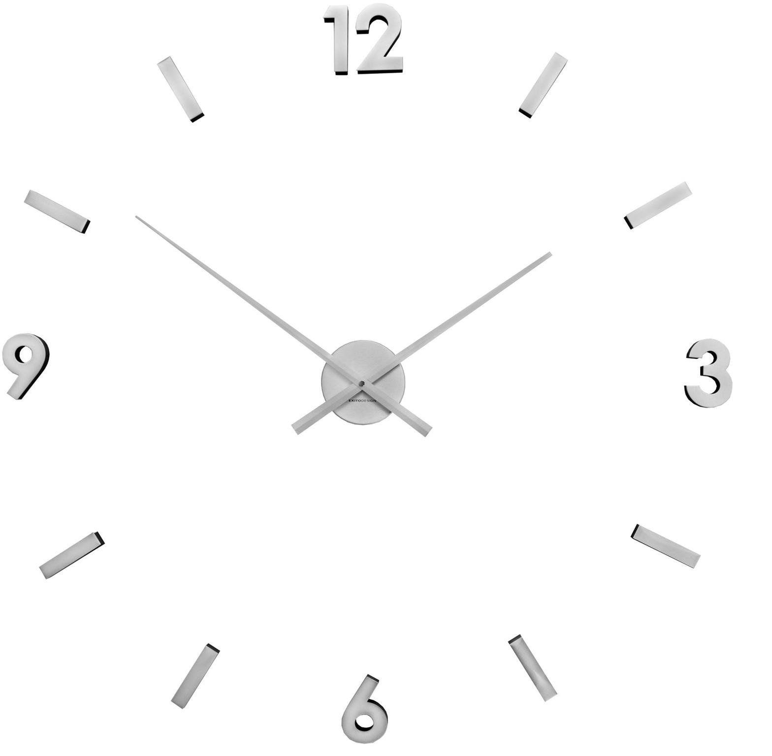 Zegar ścienny ExitoDesign HS-668S naklejany na ścianę, szybę...