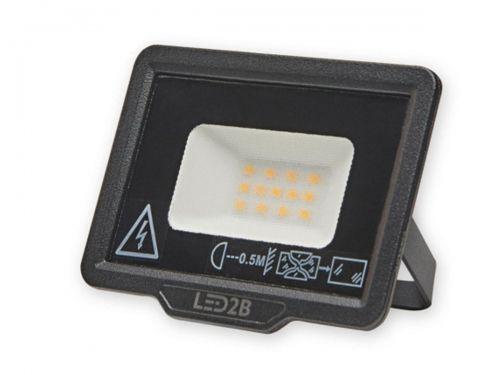Naświetlacz LED MH LED2B 10W czarny 3000K
