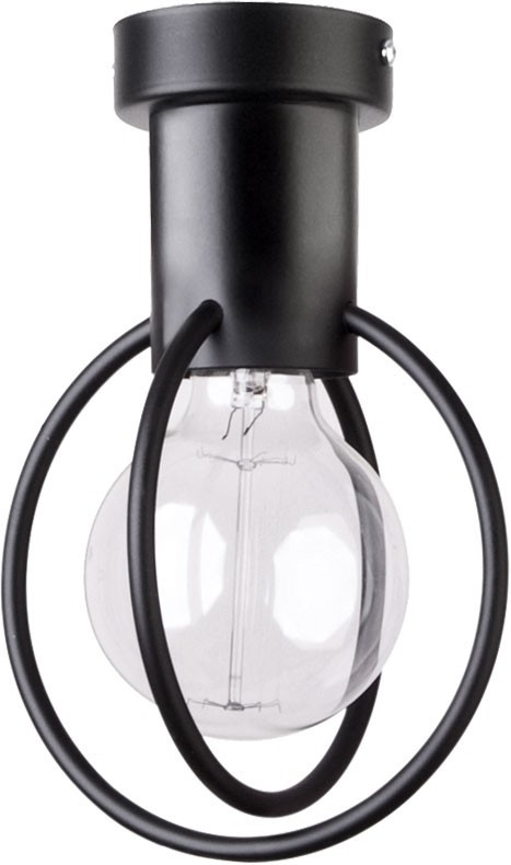 Lampa sufitowa Aura koło 1 czarna mat 31091 - Sigma Do -17% rabatu w koszyku i darmowa dostawa od 299zł !