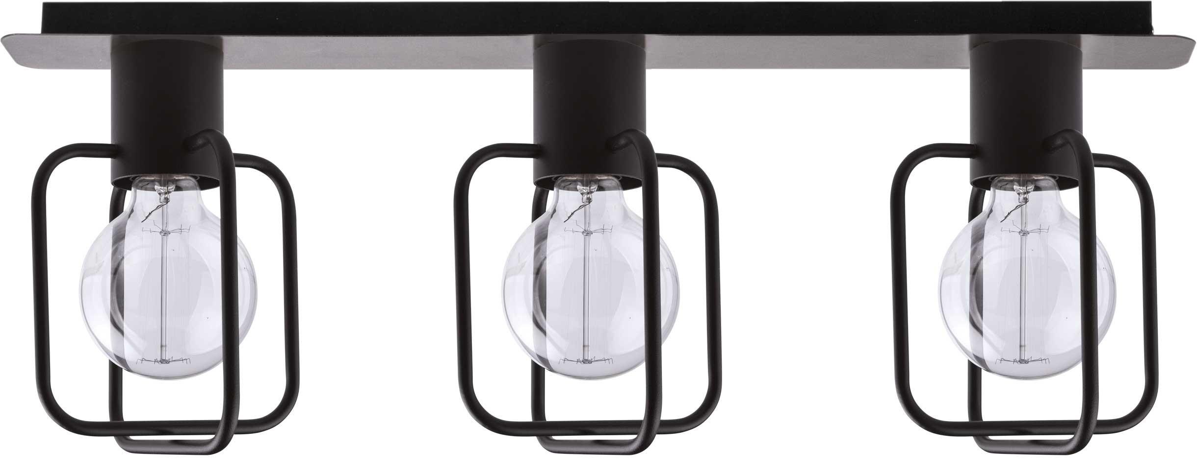 Lampa sufitowa Aura kwadrat 3 czarna 31115 - Sigma Do -17% rabatu w koszyku i darmowa dostawa od 299zł !