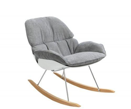 Fotel bujany NINO szary