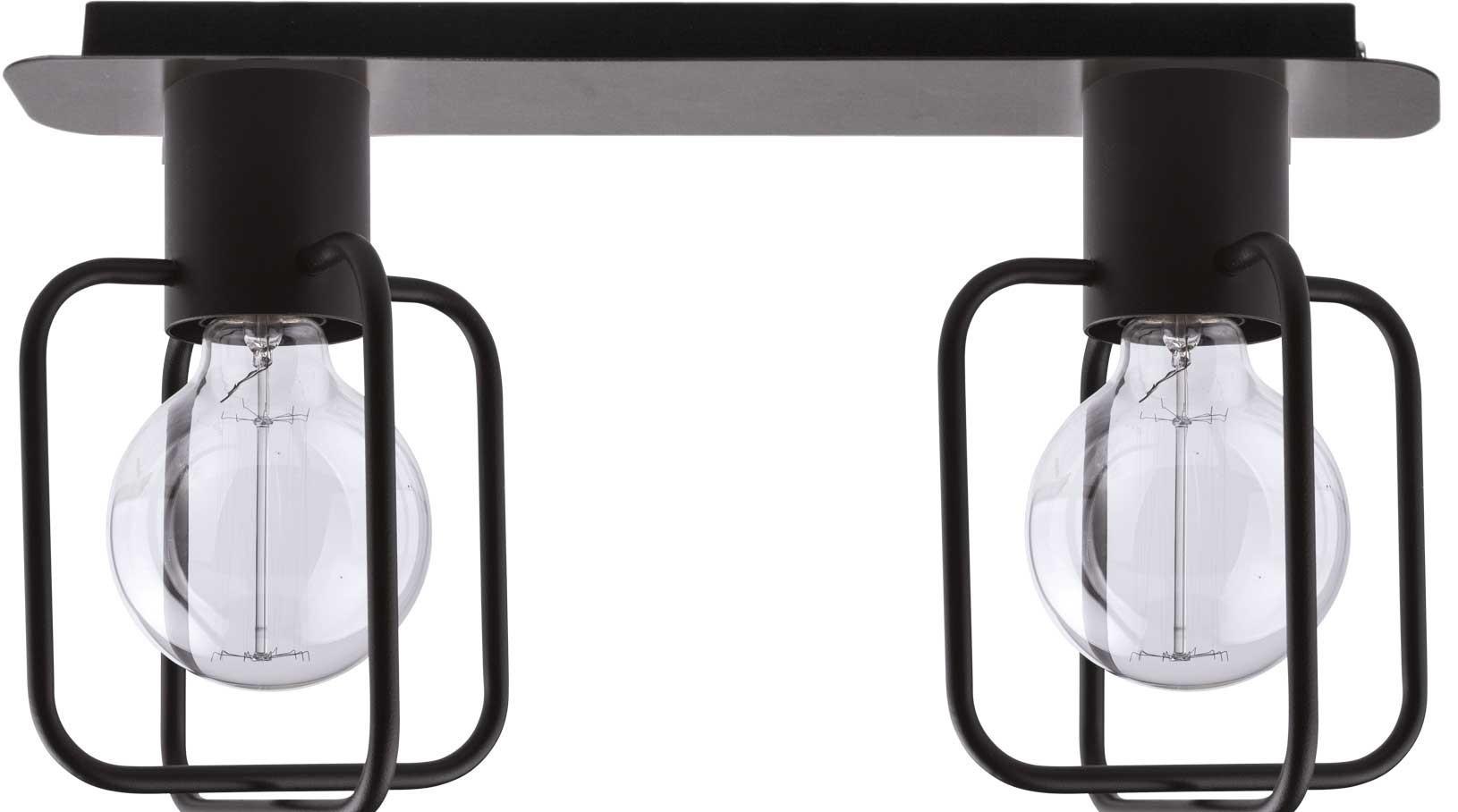 Lampa sufitowa Aura kwadrat 2 czarna 31114 - Sigma Do -17% rabatu w koszyku i darmowa dostawa od 299zł !